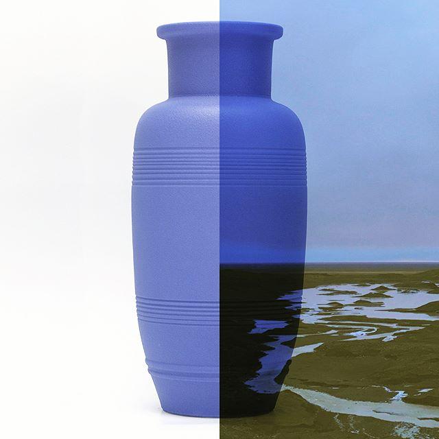 Deep skyblue Strokkur. Iceland Collection.