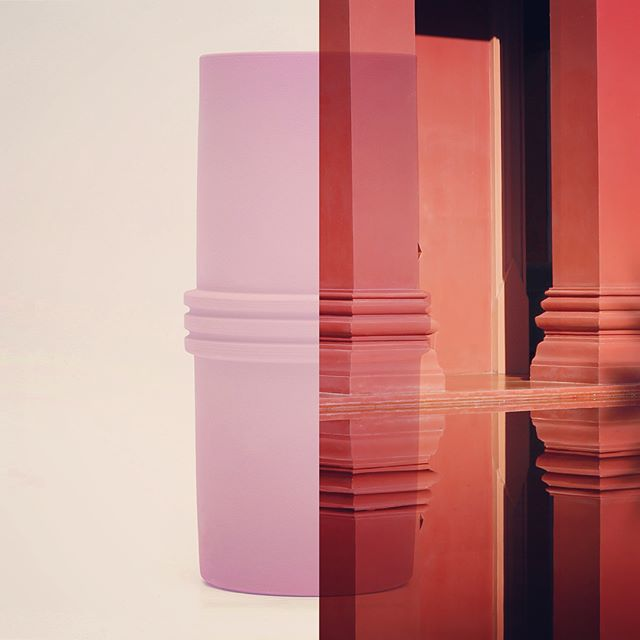Pink Grand Classic. Sérénité Collection. #ceramics #vase #porcelain #pink