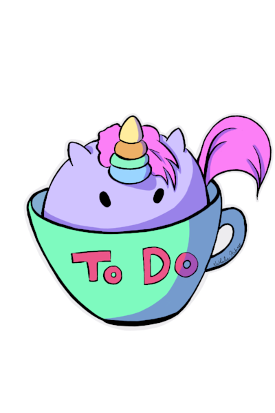 Free Digital Sticker - The New Choobicorn Summer 2018 Digital Sticker Pack Is Here!To celebrate the upcoming Choobicorn 2018 Summer Collection, claim your free Choobicorn To-Do Tea Cup sticker here.Happy planning!