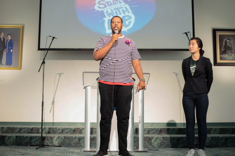 Pastor Nisan Stewart and Takayo Hiraki share their reflections and a prayer.