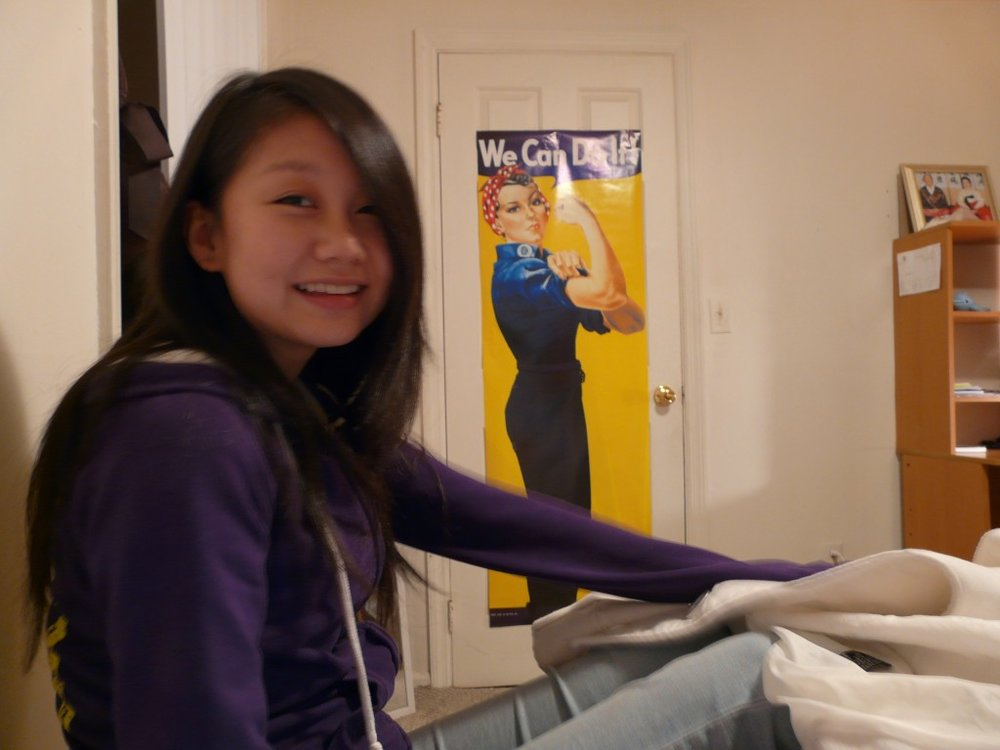 Wendy Wang is a Libra and Mass Communications Major.