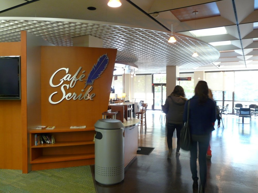 Waaaaaaaay back in November, CARP HQ took the train up to Bridgeport, CT to chill with some students at le Cafe Scribe. Here's who we found!