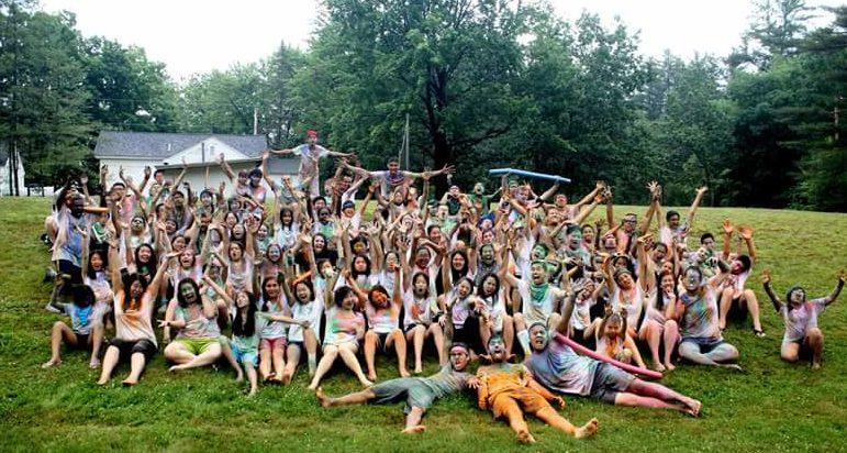 Camp Aurora participants enjoying their summer.
