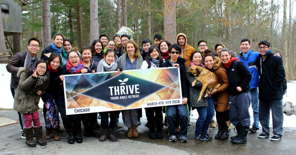 """Tasnah hosted the """"Thrive"""" workshop in Chicago for gap-year alumni and young adults."""