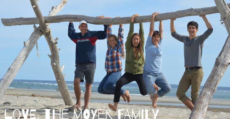 The Moyers: Hans, Tasnah, Kyra, Felicitas, and Kolya
