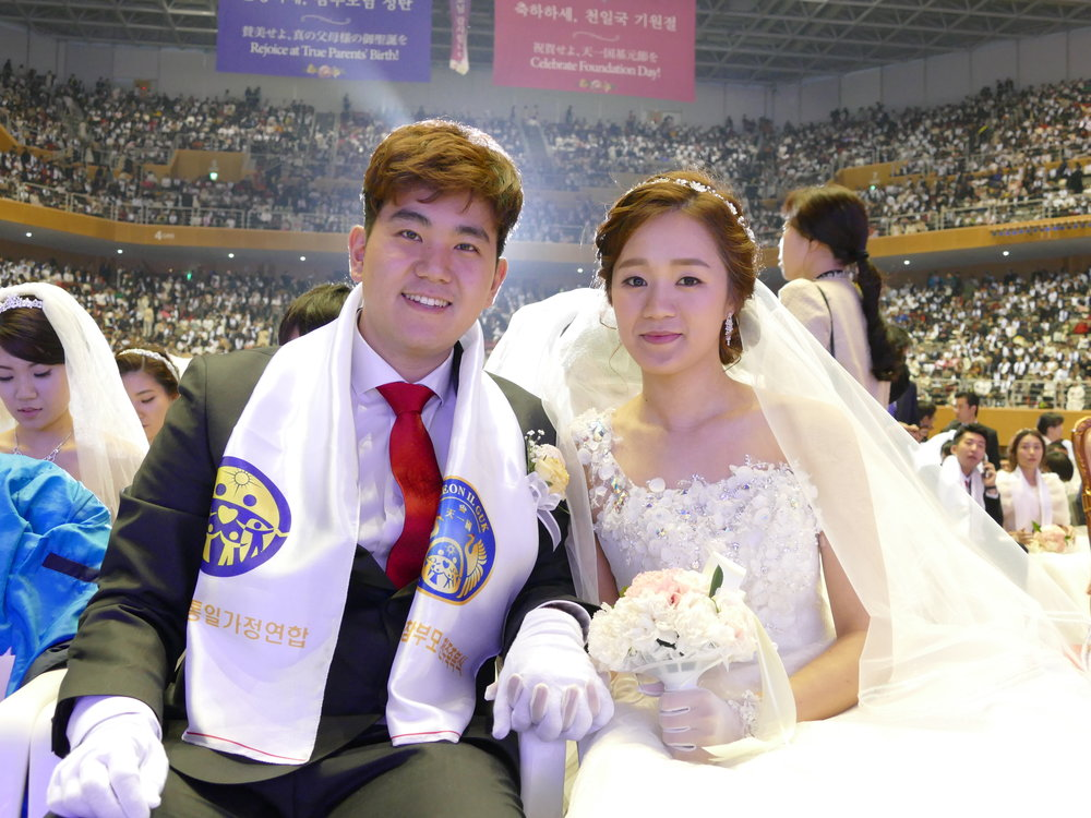 Jung participated in the Unificationist Marriage ceremony (the  Blessing ) last March 2016, a tradition of eternal love.