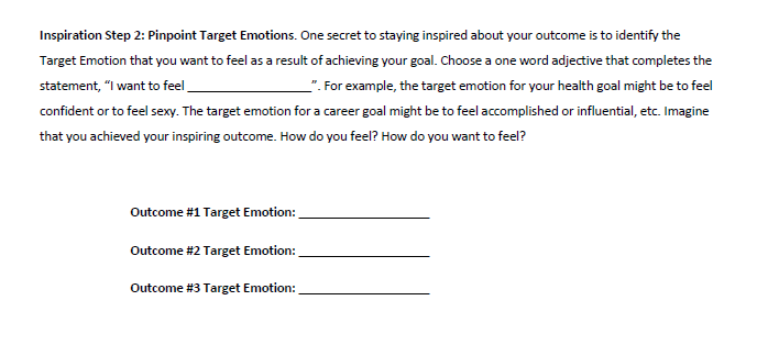 A sneak peek into the workbook for brainstorming the  I  step.