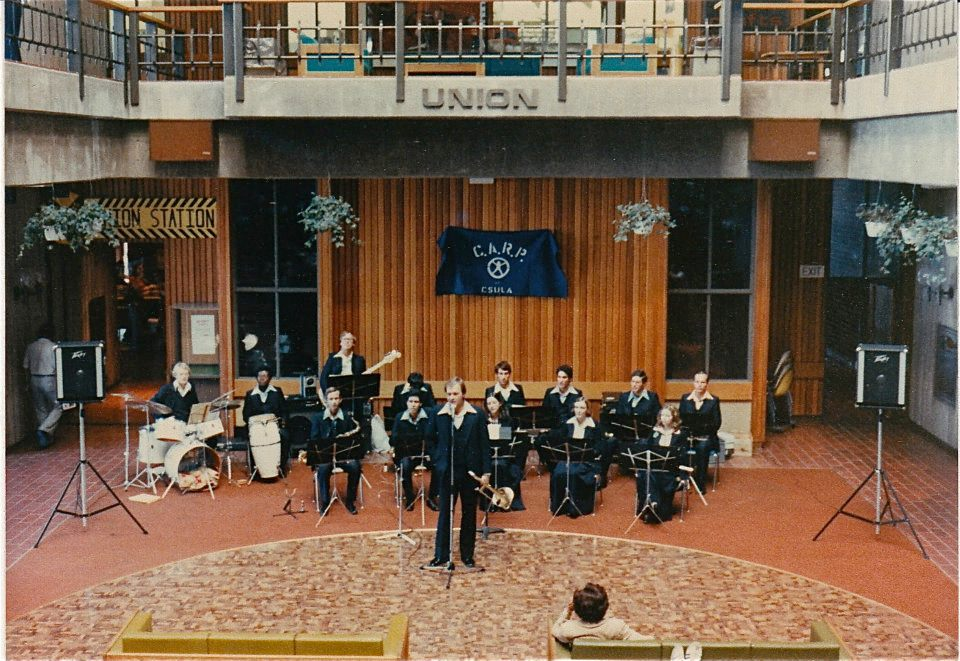 CARP concert at California State University, Northridge, 1980.