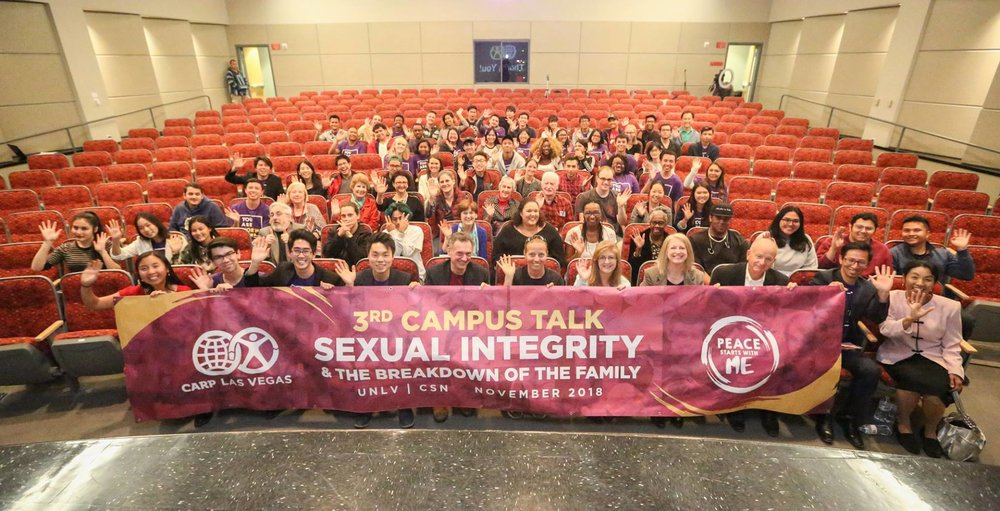 CARP UNLV's Campus Talk followed CSN's.
