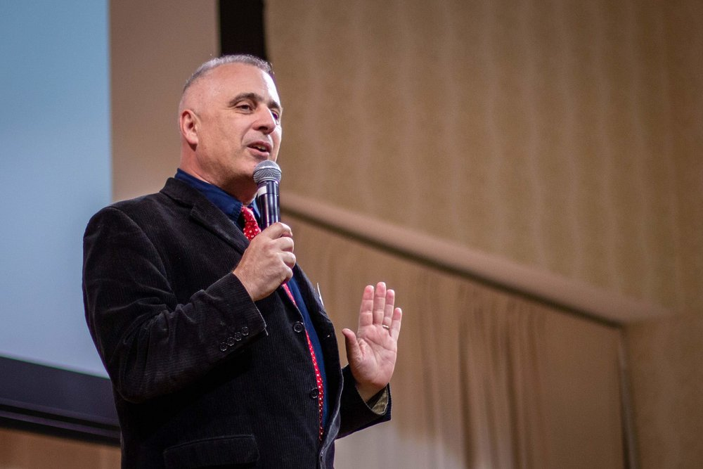 Rev. George Kazakos was the opening presenter.