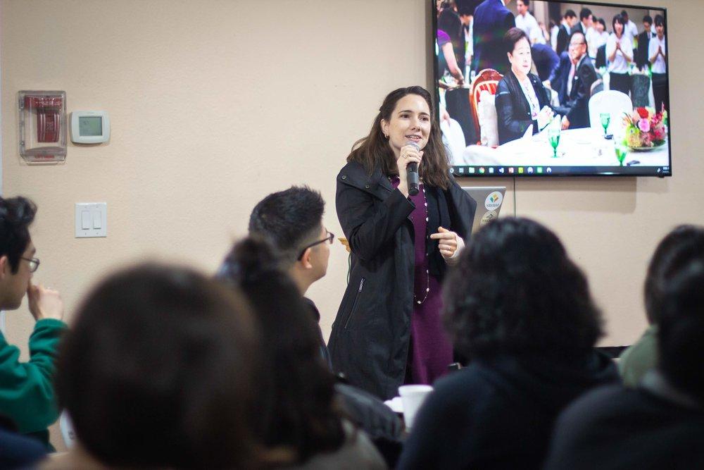 CARP USA President, Teresa Rischl, gave opening remarks.
