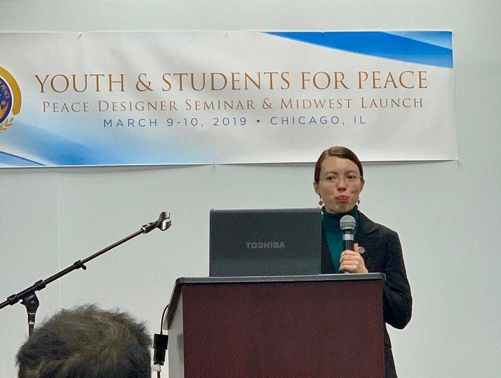 Naria Gaarder, Program Coordinator of YSP USA, led the session.