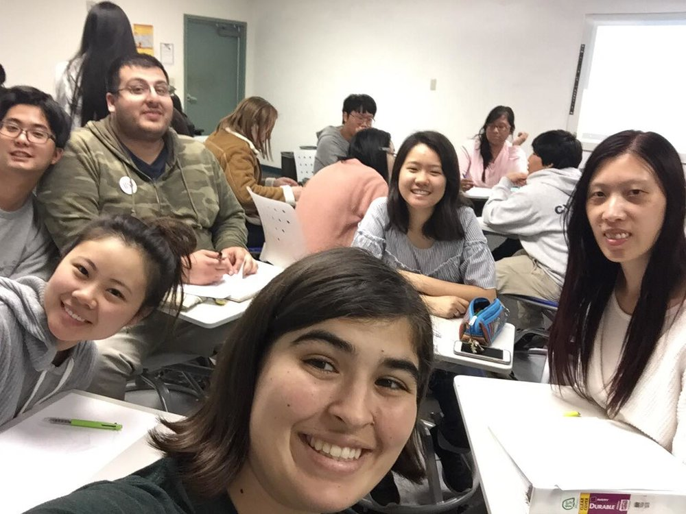 Club meetings were a perfect opportunity to invite friends. CARP Pasadena City College's meeting was visited by leaders from other chapters.