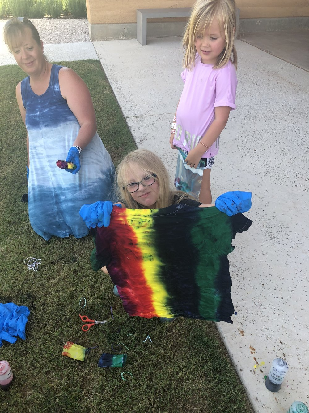 Kid's Tie Dye Crafts
