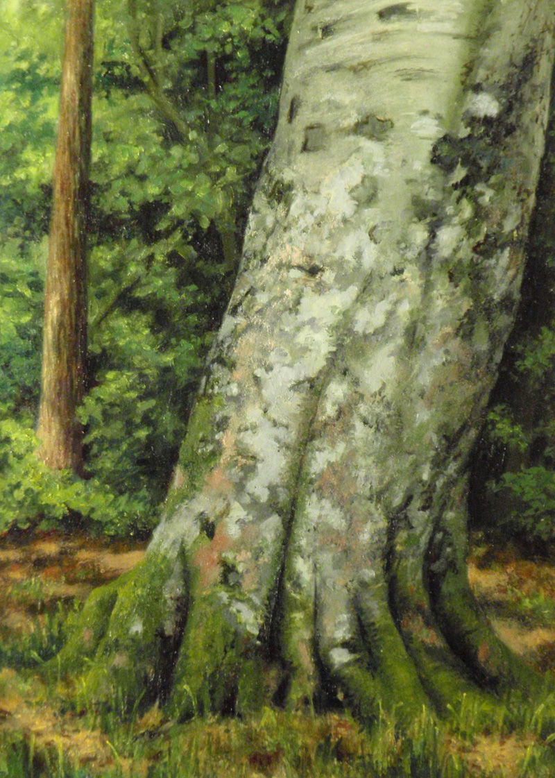"""""""Moss and Lichens""""    Oil 5""""x 7""""?"""
