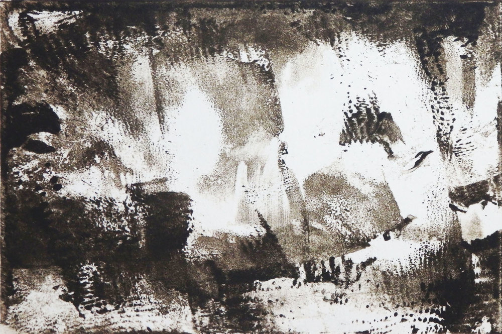"""Could Be Better""   Monotype  3 7/8"" x 6"""