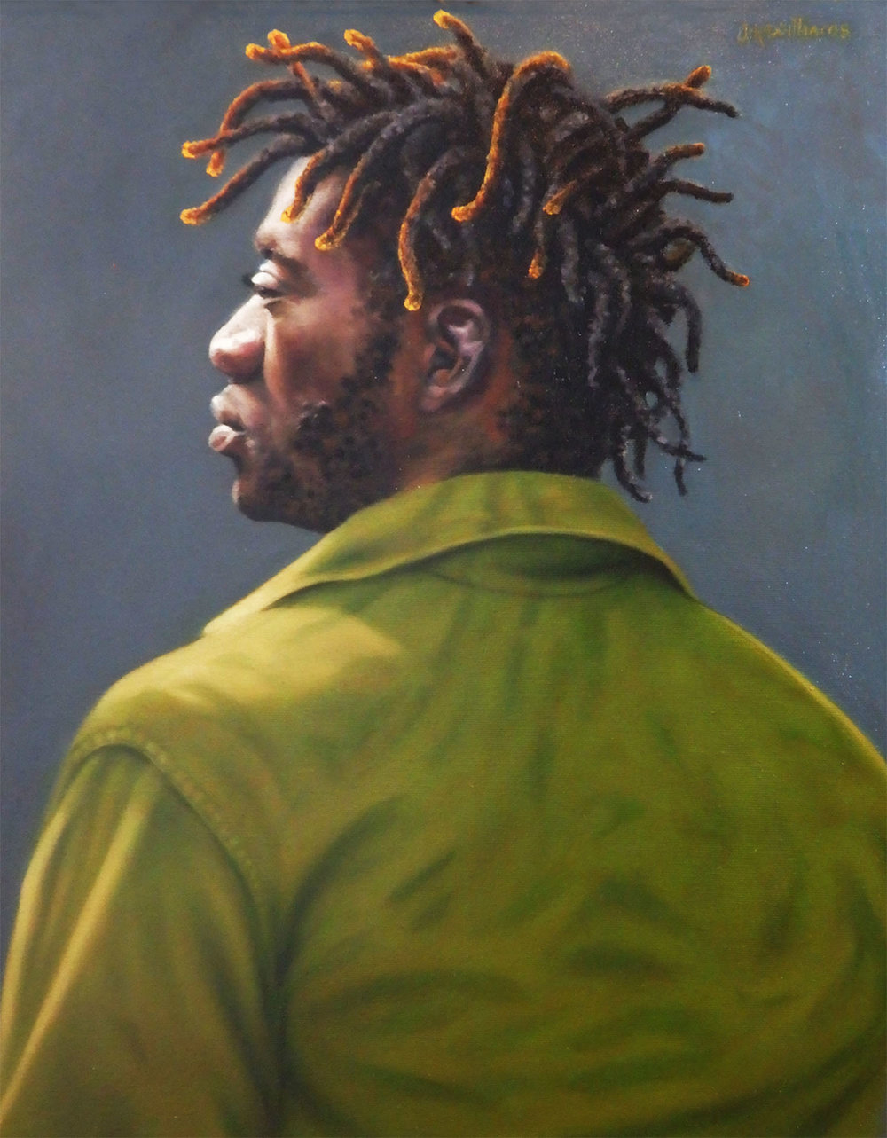 """Dreadlocks""   Oil  20"" x 16"""