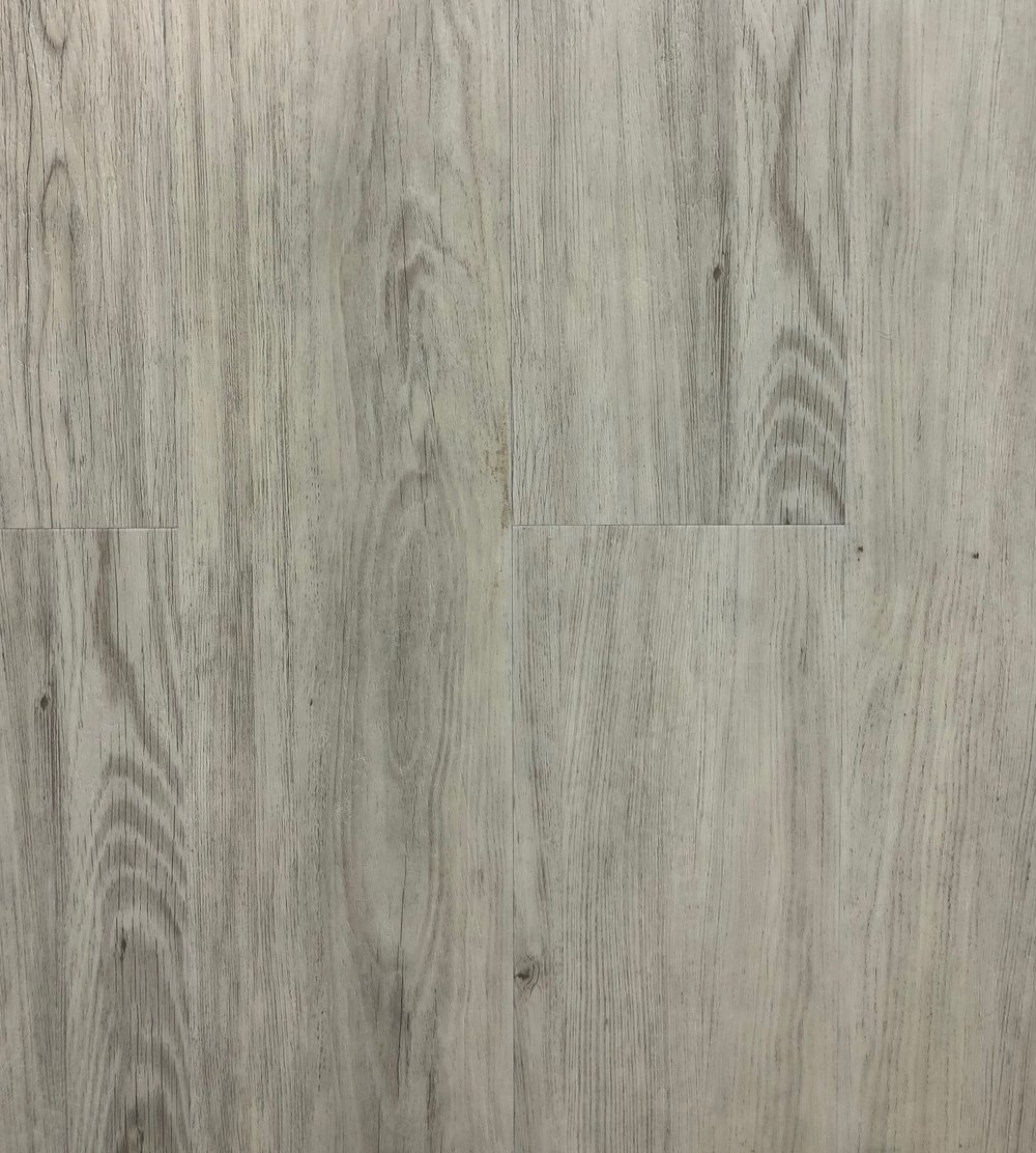 "CA Flooring- Ash Grey  Thickness: 6.5mm  Width: 7""  Length: 48"""