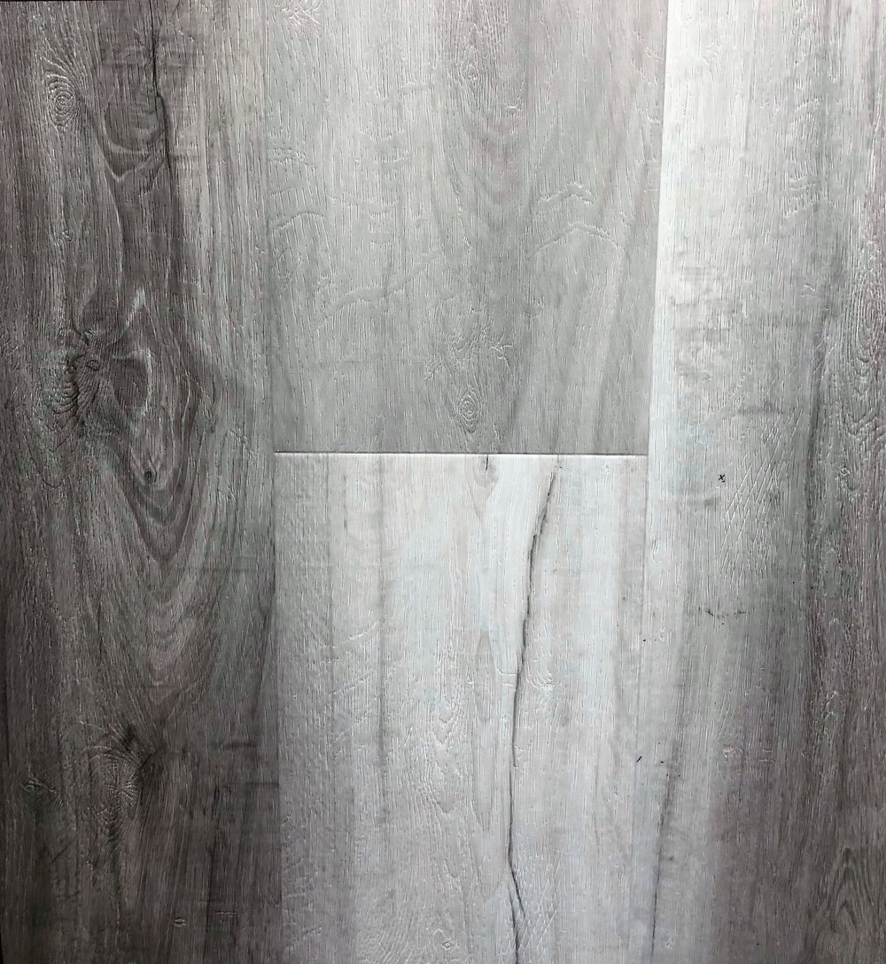 "CA Flooring - Catalina Grey  Thickness: 6.5mm  Width: 9""  Length: 72"""