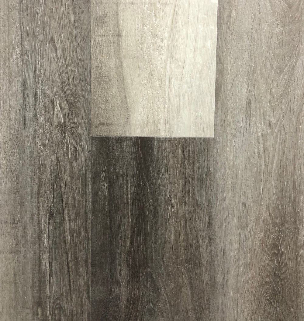 "CA Flooring - Grand Storm  Thickness: 6.5mm  Width: 9""  Length: 72"""