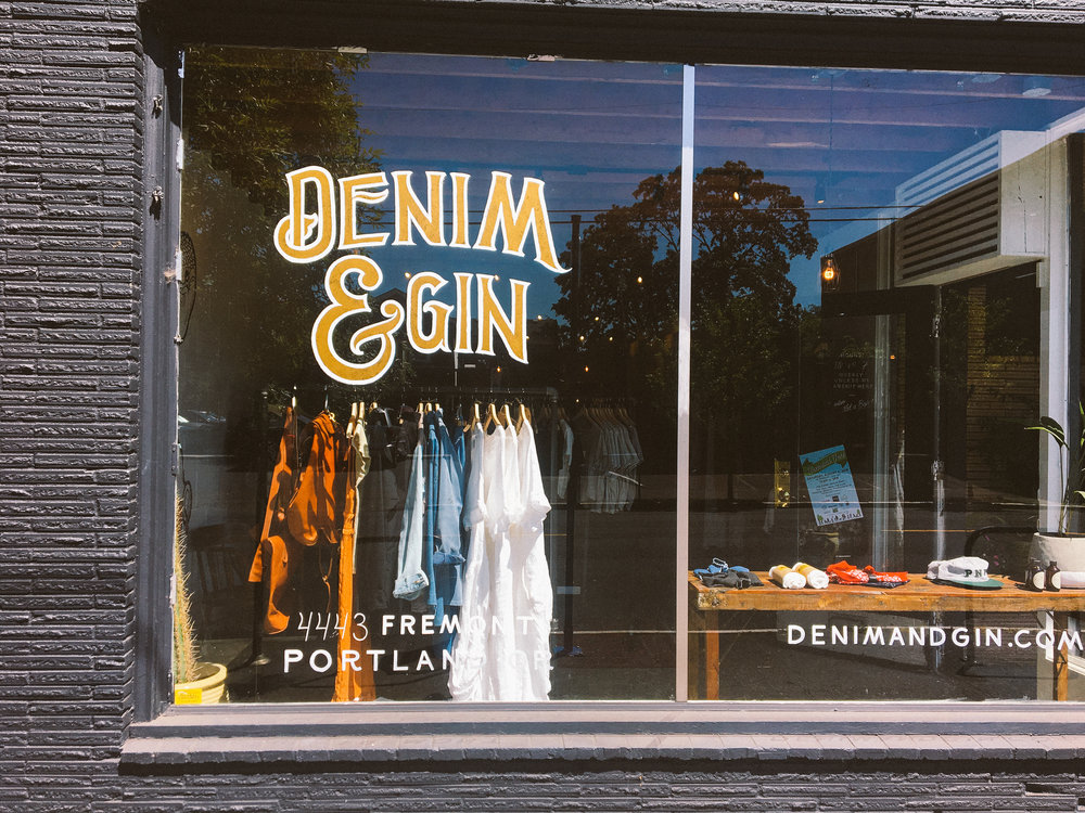 Denim and Gin - Portland OR