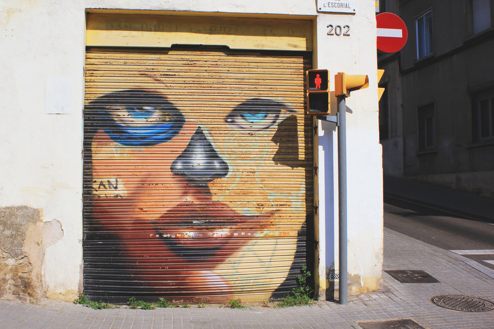 Graffiti Spotting in Barcelona