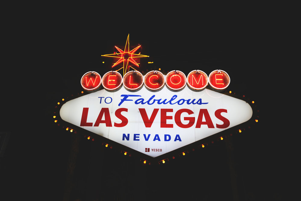 Staying in Cabins, Driving Route 66 and Arriving in Las Vegas