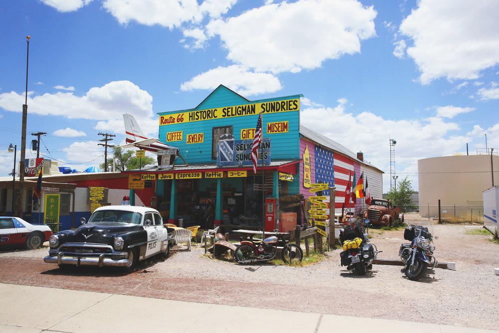 Lake Havasu City, Snow Cap Diner and the Grand Canyon