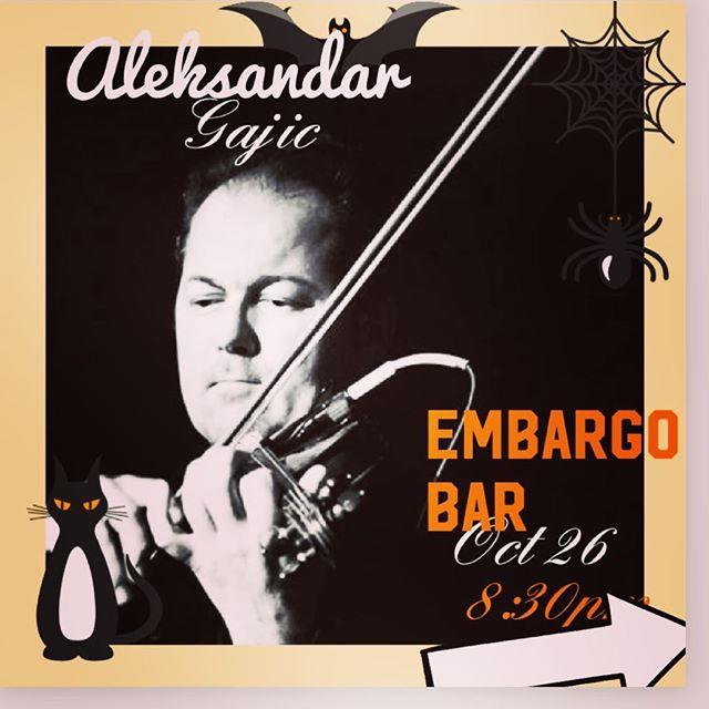 Come party with professional violinist Aleksandar gajic! #cafe #torontolife