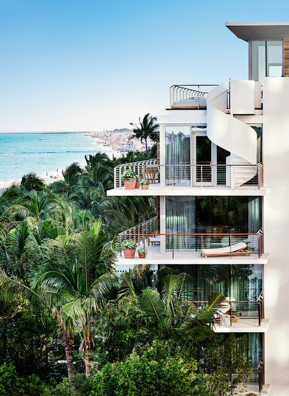 Bungalows. Courtesy of The Miami Beach EDITION.