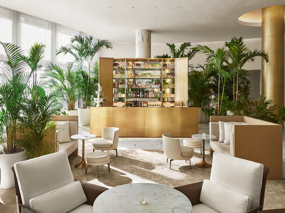 Lobby Bar. Courtesy of the Miami Beach Edition.