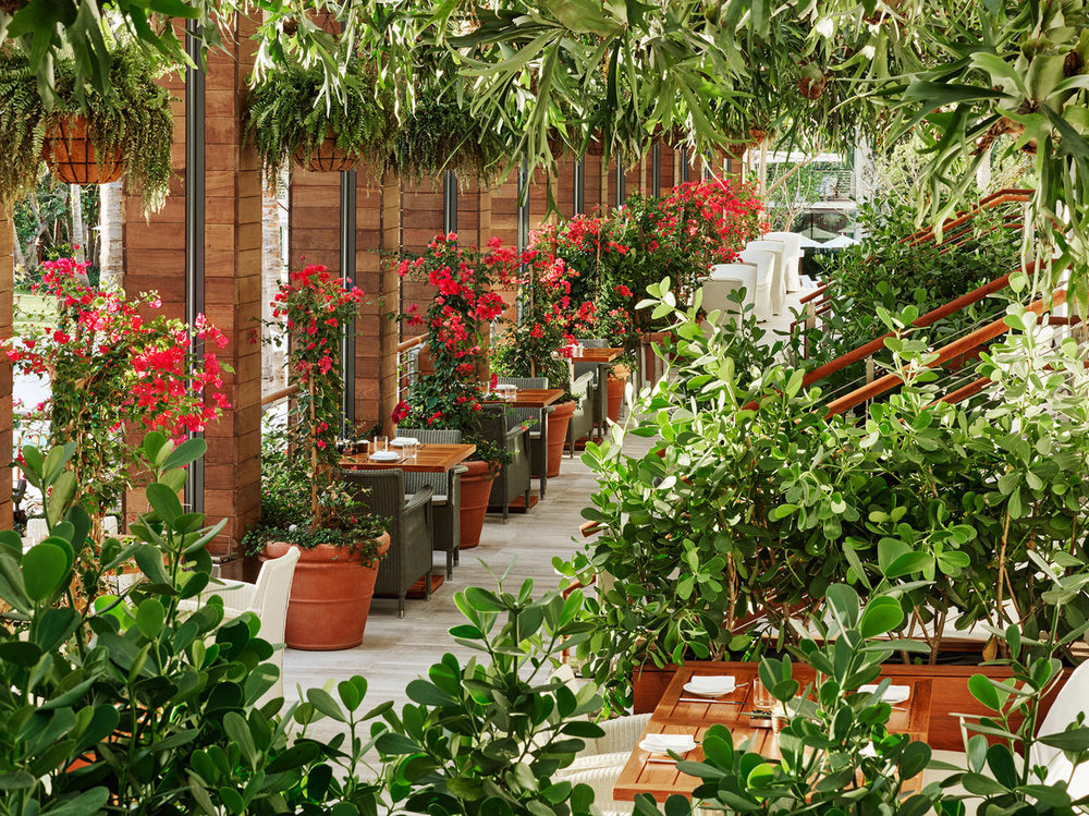 Matador Terrace by Day. Courtesy of The Miami Beach EDITION