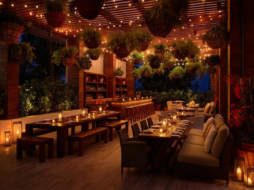 Matador Terrace by Night. Courtesy of The Miami Beach EDITION