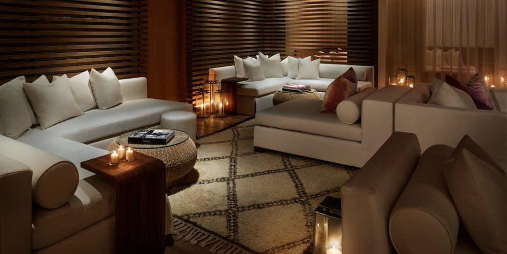Spa Lounge. Courtesy of The Miami Beach EDITION