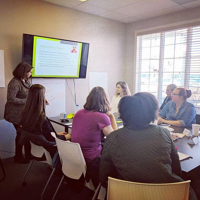 "Full house today in the #MBObusiness training room for ""Fearless Networking"" with Sonia Byrne! Cheers to these local entrepreneurs for the taking this morning to improve their business skills!  @lemonandlimehealthshoppe,  @wearereflective, @premierathletictherapy2015, @explore_the_rock_tours, @tjsoldplace and others!  #Door2Opportunity #StartOrGrow  #MBOC #BizSkills #BusinessSkills #Networking #ProfessionalDevelopment #FearlessNetworking #SoniaByrne #Entrepreneurship #Entrepreneur #SmallBusiness #SmallBiz #YYT #709 #StJohns #MountPearl #NewfoundlandLabrador"