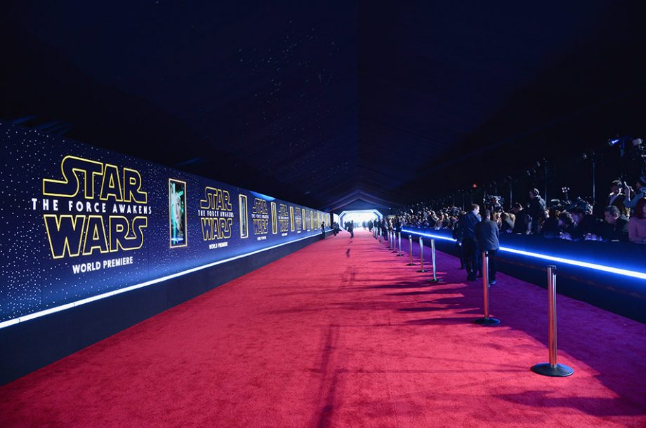 STAR WARS WORLD PREMIERE