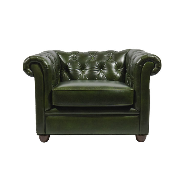 CHESTERFIELD ARM CHAIR - FOREST