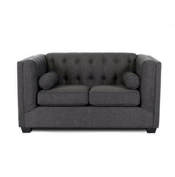 GRACE LOVESEAT - CHARCOAL