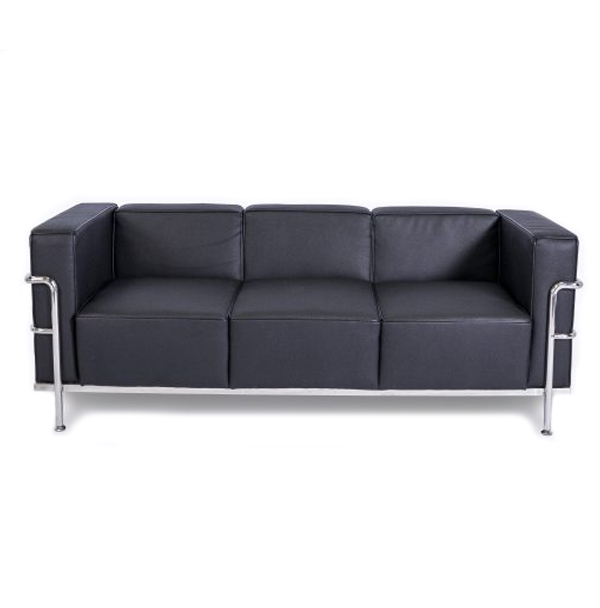 CORBUSIER SOFA - BLACK