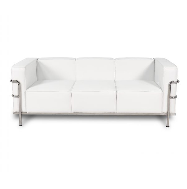 CORBUSIER SOFA - WHITE