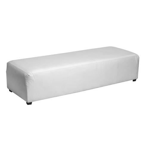 MODULAR BENCH - WHITE