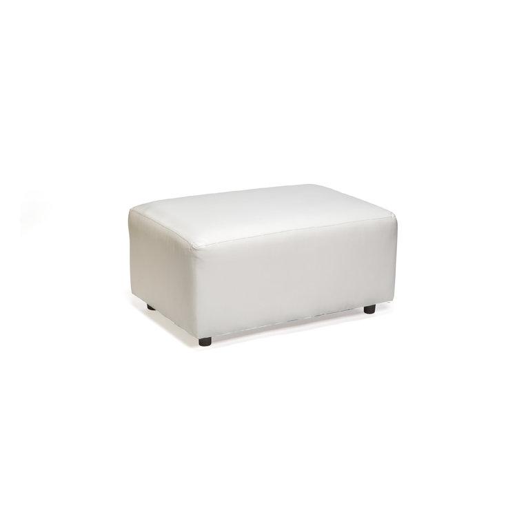 MODULAR HALF BENCH - WHITE