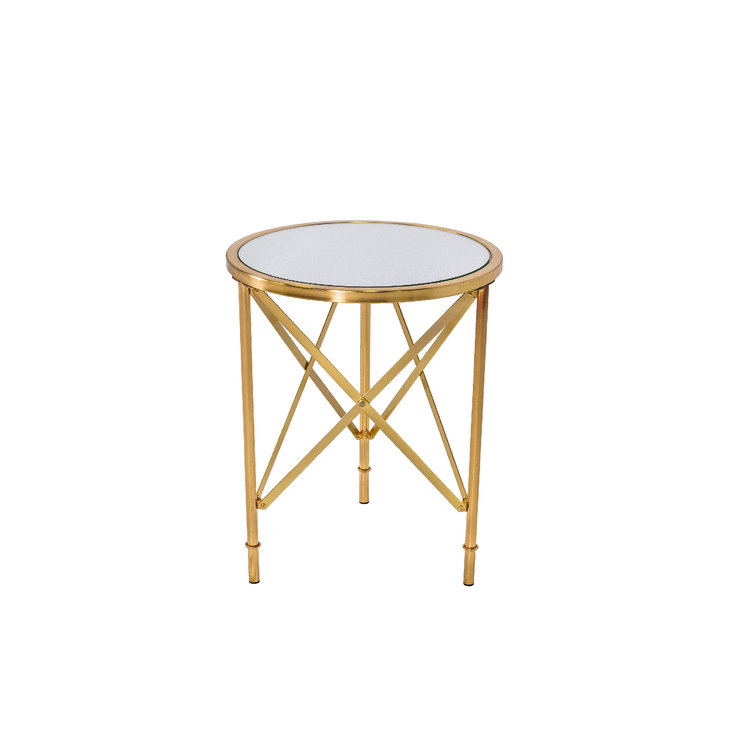 CAPTAIN BRASS END TABLE