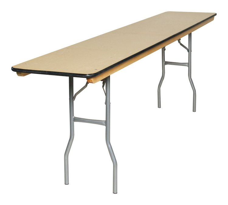 "8' X 8"" CONFERENCE TABLE"