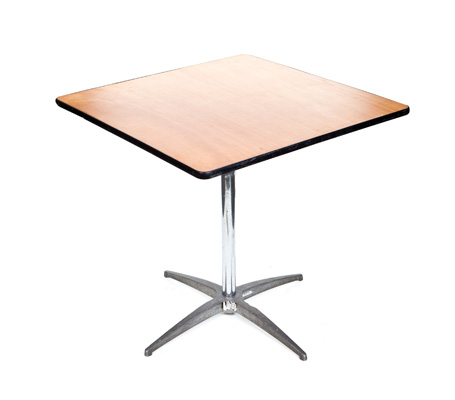 "30"" SQUARE TABLE"