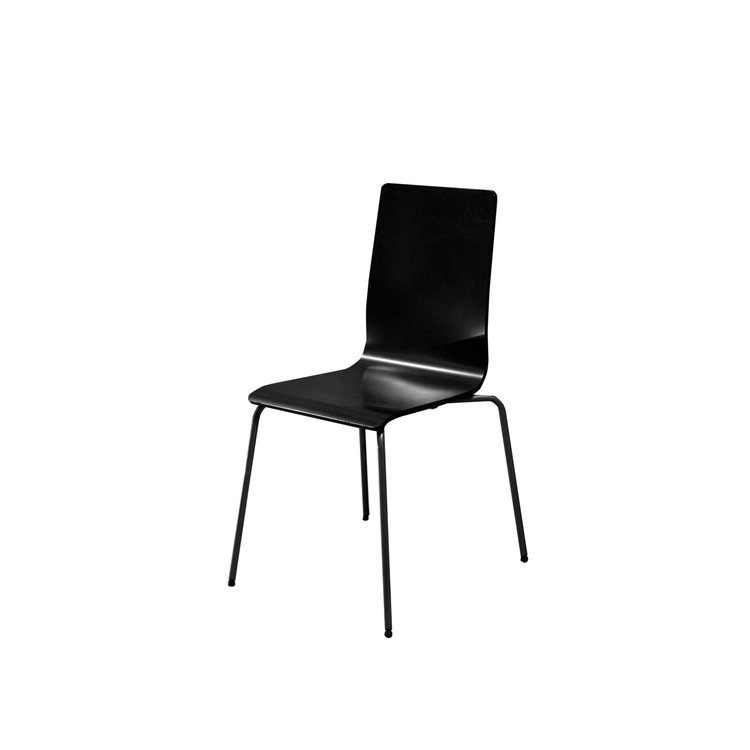 BLACK VIENNA CHAIR