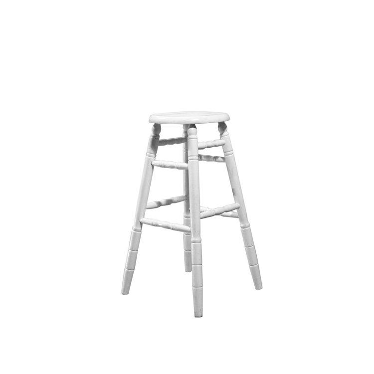 WHITEWOOD BAR STOOL