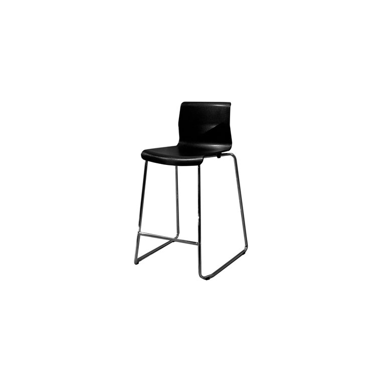 "26"" VIENNA COUNTER STOOL - BLACK"