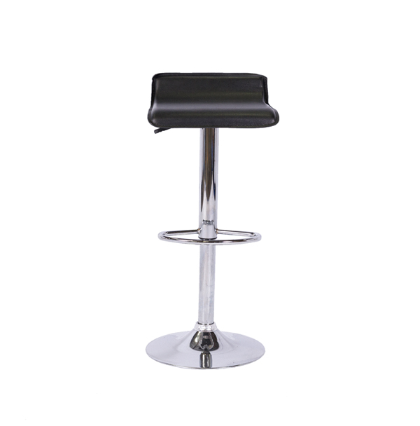 LOW BACK BARSTOOL - BLACK