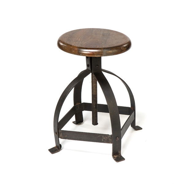 "12"" REV METAL SIDE STOOL"